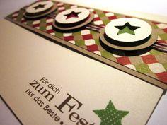 #stampin up - Wunderbare Weihnachtsgrüße - Merry Minis - DP Festival der Vielfalt - Christmascard
