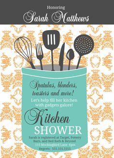 Kitchen Shower DIY Utensils Gifts