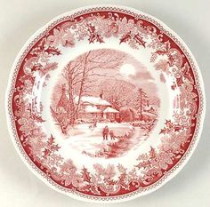 SPODE WINTER'S EVE-RED - Replacements Ltd.