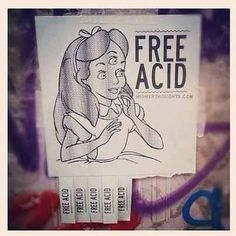 Trippy Alice LSD