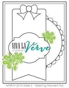 Viva la Verve Sketches: Viva la Verve March Week 2 Sketch