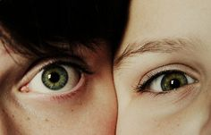 Image de eyes, couple, and green eyes