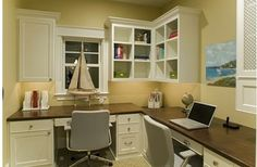 Functional desk/office space for two
