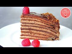 This is the Best Chocolate Honey Cake Recipe ever. Consisting of layers of chocolate honey dough with creamy chocolate frosting, this luxurious cake is perfect with tea or coffee. The honey cake is very popular in Latvia and… Cake Recipes From Scratch, Easy Cake Recipes, Baking Recipes, Dessert Recipes, Best Chocolate, Chocolate Desserts, Chocolate Frosting, Chocolate Custard, Chocolate Cake