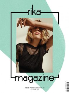layout of the magazine with a block colour behind. Graphic Design Brochure, Fashion Graphic Design, Graphic Design Posters, Graphic Design Inspiration, Editorial Layout, Editorial Design, Sites Layout, Magazine Cover Layout, Creative Instagram Stories