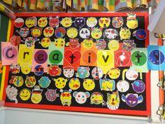 Creativity school display board. Year 3 Display Boards For School, School Displays, Calendar, Creativity, Holiday Decor, Home Decor, Decoration Home, Room Decor, Life Planner