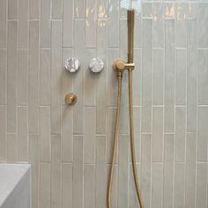 Aria Sage Gloss Tile Tiles Online, Bathroom Styling, Laminate Flooring, Tile Patterns, Outdoor Walls, Interior Inspiration, Sage, Door Handles, Handmade