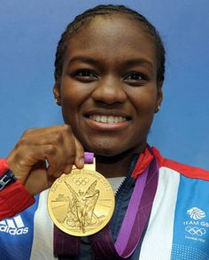 Champ Nicola Adams - first female Olympic boxing champion #womentoadmiredeeply  http://www.healyourfacewithfood.com/