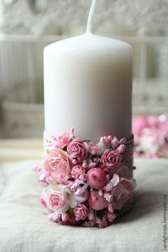 Candle designing inspiring ideas for weddings and events; a group styles thoughts for wedding candle focal points. Henna Candles, Diy Candles, Pillar Candles, Candle Lanterns, Candle Centerpieces, Wedding Centerpieces, Wedding Decorations, Wedding Unity Candles, Candle Craft