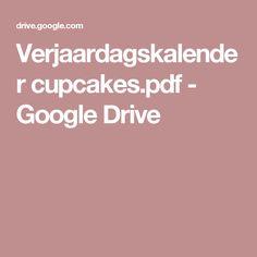 Verjaardagskalender cupcakes.pdf - Google Drive