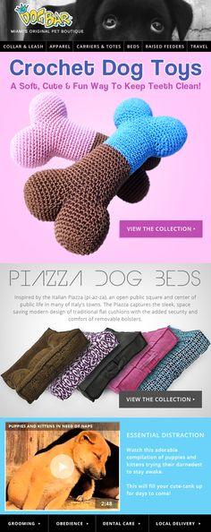 THE DOG BAR - Crochet Dog Toys!