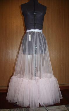 Как сшить подъюбник для кружевного платья