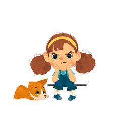on Behance Cartoon Drawings, Cute Drawings, Cartoon Art, Kid Character, Character Drawing, Children's Book Illustration, Character Illustration, Kids Cartoon Characters, Character Design Animation