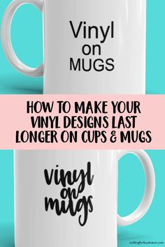 cricut vinyl projects Get tips to make vinyl on cups, mugs, and tumblers stay longer in your Silhouette Cameo or Cricut Explore and Maker small business. Cricut Air 2, Cricut Help, Vinyl For Cricut, Cricut Vinyl Projects, Cricut Explore Vinyl, Cricut Project Ideas, Cricut Explore Projects, Cricut Fonts, Svg Files For Cricut