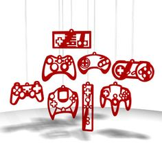 Video Game Controller Ornaments! $30
