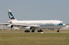 Airbus A340-313X   Cathay Pacific Airways   B-HXF
