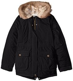 c2164565d73 Amazon.com: Jessica Simpson Big Girls' Faux Fur Hood Rail Quilted  Heavyweight Parka: Clothing. RailGirls QuiltsMen's JacketsInfoDown CoatParkaLatest  ...
