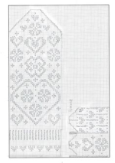 Knitting Charts Socks Libraries Ideas For 2019 Knitting Machine Patterns, Knitting Charts, Loom Patterns, Easy Knitting, Knitting Socks, Knitting Stitches, Mittens Pattern, Knit Mittens, Crochet Gloves