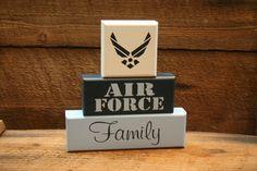 AIR FORCE Family Military Blocks.