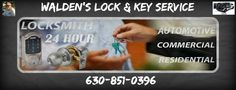 Commercial or Residential Locksmith Services Aurora, Naperville, Plainfi...