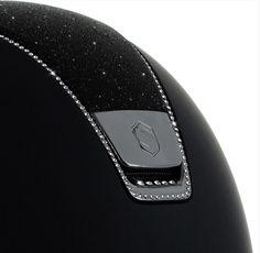 Samshield: Shadowmatt Helmet - Crystal Fabric Swarovski 255 Swarovski