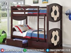 Trundle Bed With Storage, Bunk Bed With Trundle, Twin Bunk Beds, Kids Bunk Beds, Twin Twin, Siblings Sharing Bedroom, Kids Toddler Bed, Modern Bunk Beds, Bunk Bed Designs