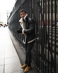 Leather Jeans Men, Leather Jacket Outfits, Leather Jackets, Retro Mode, Mode Vintage, Daily Fashion, Mens Fashion, Fashion Outfits, Style Fashion