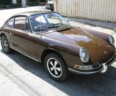 1965 Porsche 912 awesomely wrong but nice color