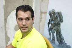 Henry Cavill - Gibraltar Rock Run Live Coverage