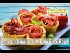 Das beste Low Carb Party-Food! Köstliche Low Carb Pizza Rosen funktionieren auch ohne Kohlenhydrate, probiert es aus!