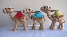 Очаровательные игрушки амигуруми - верблюд и мишка. Обсуждение на LiveInternet - Российский Сервис Онлайн-Дневников