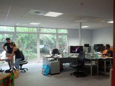 New workin' space #demenagement #viedagence