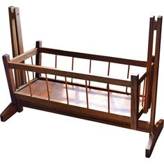 Dark Wood Cribs From Red Wood