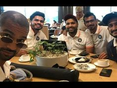 """Shikhar Dhawan's daughter Aaliyah Dhawan obviously saw the picture and commented on the snaps about the shades worn by Gabbar. """"Ur glasses look great,"""" read . Shikhar Dhawan, Mumbai Indians, Aamir Khan, Bollywood News, Aaliyah, Golden Age, Gossip, Movie Stars, Cricket"""