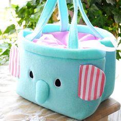 Cute Elephant Bag Lunch Box