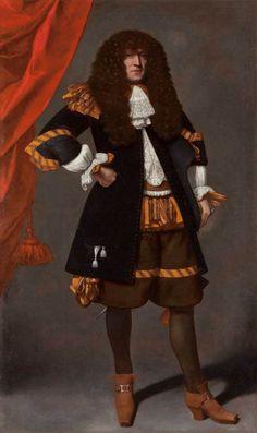 1665-1670 Carlo Ceresa - Portrait of a Gentleman with a Wig