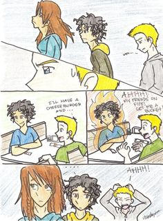 Lost Hero (Jason Worrying about Leo) -- man, i am loving these strips by chloisssx3.deviantart