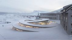 21 Jaw Dropping Architectural Renderings by Bjarke Ingels Group BIG_19 Audemars Piguet Museum, 1348 Le Chenit, Switzerland