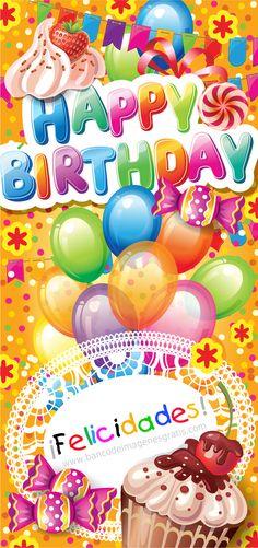 """""""Happy Birthday"""" y """"Felicidades"""" Snoopy Birthday, Happy Belated Birthday, Happy Birthday Cards, Birthday Greetings, Happy Birthday Wishes Images, Happy Birthday Celebration, Birthday Card Sayings, Birthday Wallpaper, Son Birthday Quotes"""