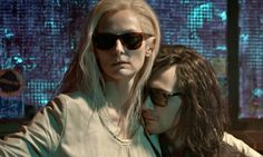 'A droll, classy piece of cinematic dandyism': Tilda Swinton and Tom Hiddleston in Only Lovers Left Alive. Photograph: Gordon A Timpen