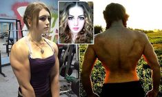 Julia Vins, from the city of Engels in Russia, holds three world powerlifting records but claims men are often jealous of her strength. Her photos have attracted thousands of fans on Instagram.