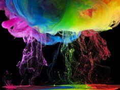 Aqueous Rainbow Skies 11 by Mark Mawson