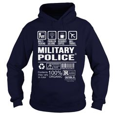 MILITARY POLICE T-Shirts, Hoodies. BUY IT NOW ==► https://www.sunfrog.com/LifeStyle/MILITARY-POLICE-91343094-Navy-Blue-Hoodie.html?id=41382
