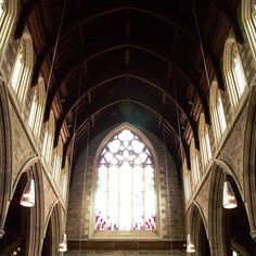 Even when the weather's not so good there are things to discover in Tasmania.  Cassandra Leigh took this shot while exploring Hobart's St David's Cathedral. #hobart #tasmania #church #catherdral #discovertasmania