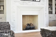 Fireplace Mantels, North America, Indoor Fireplaces, Industrial, Inspiration, Design, Home Decor, Biblical Inspiration, Decoration Home