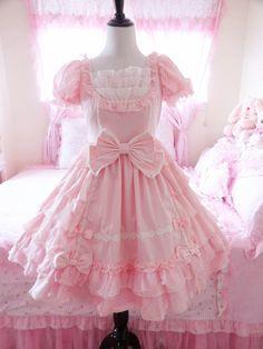 Angelic Pretty pink dress Source by paulaerrandonea dress outfits Harajuku Fashion, Kawaii Fashion, Lolita Fashion, Cute Fashion, Fashion Outfits, Sweet Fashion, Frilly Dresses, Pretty Dresses, Beautiful Dresses