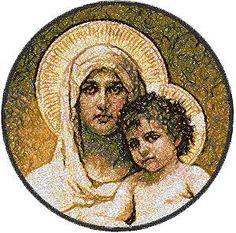 William Bouguereau.  Madonna en Kind.