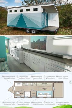 The Lil' Lodge tiny house, designed by architect,