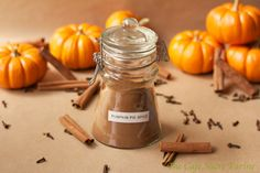 Pumpkin Pie Spice - Make you own pumpkin pie spice. Its easy and will save you a ton of money!