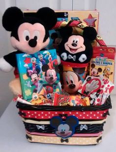 $57 @Ebay  MICKEY MOUSE Red & Yellow Unisex Child's Gift Basket